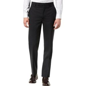 NWT Calvin Klein charcoal dress pants, slim fit